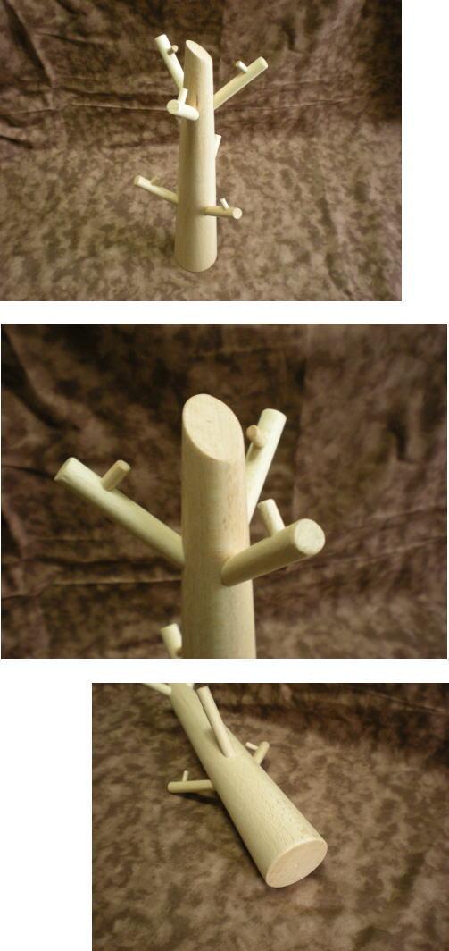 木製アクセサリーツリー