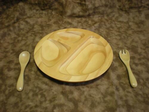木製食器フォークスプーン